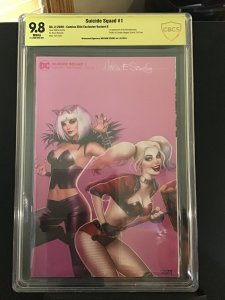 Suicide Squad #1 9.8 CBCS signed by Nathan Szerdy 1st App of Revolutionaries +