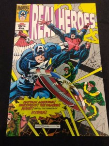 Real Heroes #3 Pizza Hut Promotional Comic 1994 Captain America + More