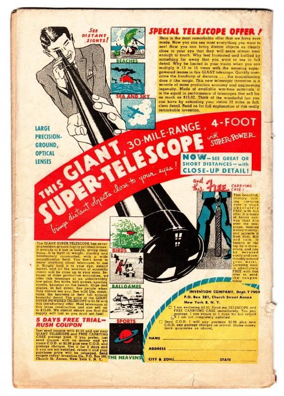 Wonder Comics #3 1944-Nedor-WWII Nazi punching cover-Alex Schomburg
