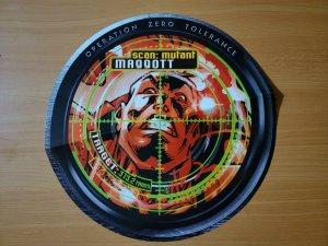 12 x 12  X-Men Operation Zero Tolerance Target Scan MAGGOTT Promo Poster NEW