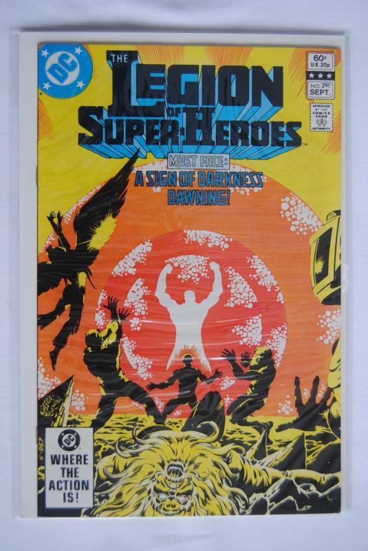 Legion of Super-Heroes 291