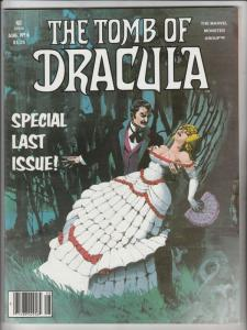 Tomb of Dracula Magazine #6 (Aug-80) NM/MT Super-High-Grade Dracula