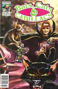 Bats Cats & Cadillacs #2, VF+ (Stock photo)