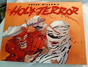 Frank Miller's Holy Terror OGN HC VF/NM hero vs muslim terrorist extremists 9/11