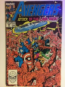 Avengers #305 VF Attack of the Lava Men Marvel Comics Thor She-Hulk Captain