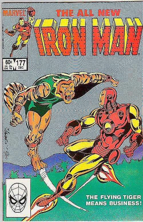 Iron Man #177 (Dec-84) VF/NM High-Grade Iron Man