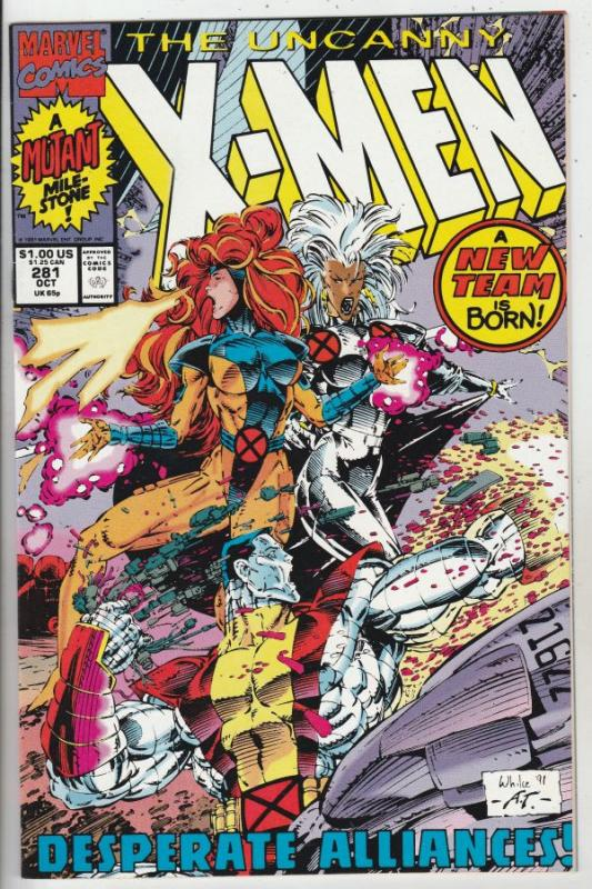X-Men #281 (Oct-91) NM/MT Super-High-Grade X-Men