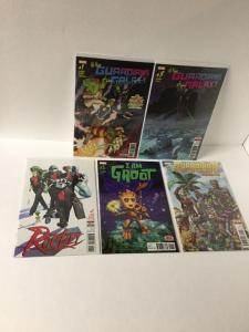 Guardians Of The Galaxy 1 3 Rocket 1 I Am Groot 1  Dream On 1 Nm Marvel A27