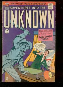 ADVENTURES INTO THE UNKNOWN #170 1967-FINAL NEMESIS APP-very good VG