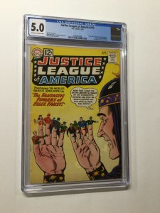 Justice League Of America 10 Cgc 5.0 Ow/w Pages 1st Felix Faust And Lord Of Time