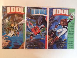 Idol 1-3 Complete Near Mint Lot Set Run
