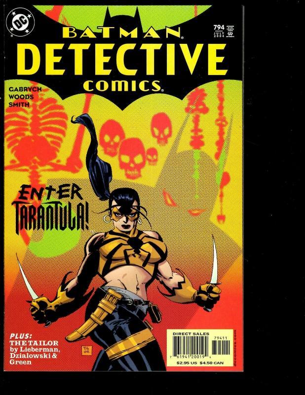 10 Batman Detective DC Comics 791 792 793 794 795 796 797 798 799 810 SM11