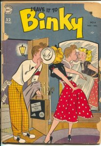 Leave It To Binky #11 1949-DC-kissing cover-teen humor-G-