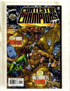 Lot of 9 Comics Contest of Champions 5 1 Secret Defenders 12 Fury 4 +MORE HY2