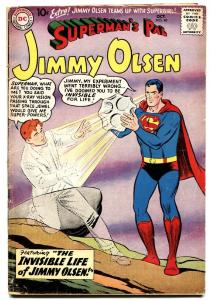 SUPERMAN'S PAL JIMMY OLSEN #40 1959-SUPERGIRL TEAM-UP
