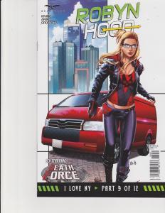 Robyn Hood I Love New York #9 Cover C Zenescope Comic GFT NM Otero