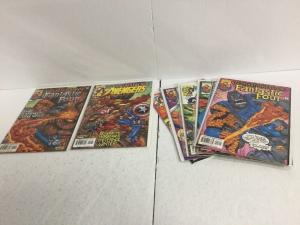Domination Factor 1-8 Lot Set Run Nm Near Mint Avengers Fantastic Four IK