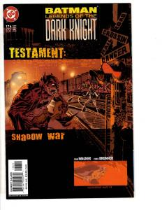 10 Batman Legends Dark Comics # 176 177 178 179 180 181 182 183 184 185 186 CR14