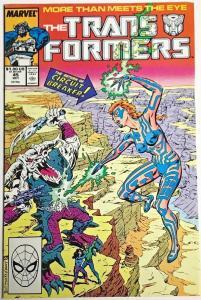 TRANSFORMERS#45 VF/NM 1986 MARVEL COMICS