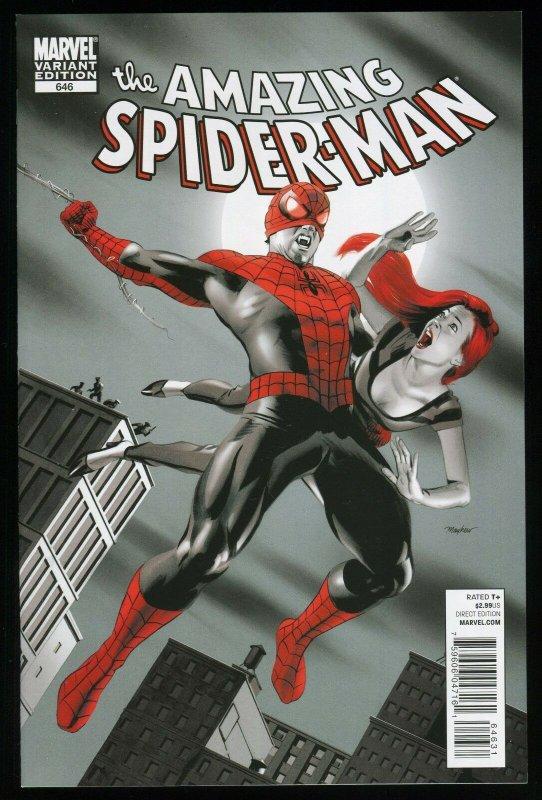 AMAZING SPIDER-MAN #646 MIKE MAYHEW HOMAGE VARIANT NM.