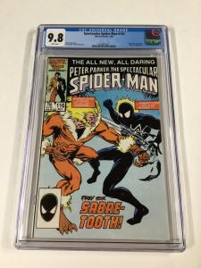 Spectacular Spider-man 116 Cgc 9.8 White Pages Marvel