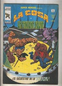 Super Heroes volumen 2 numero 102; La Cosa y La Pantera Negra (numerado 1 en ...