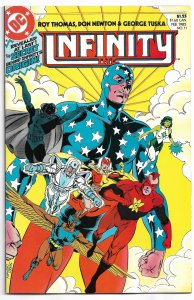 Infinity, Inc. #11 (1985) VF-NM
