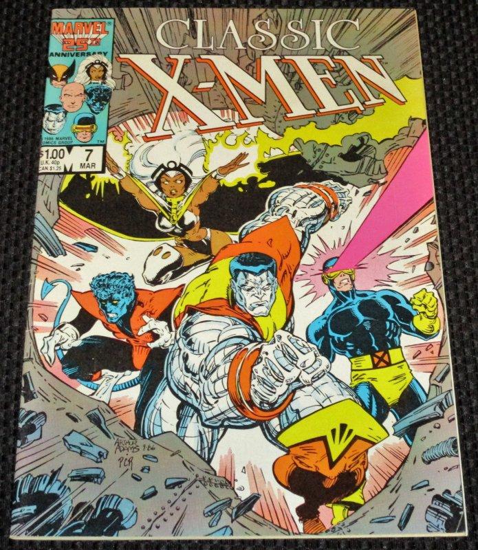 Classic X-Men #7 (1987)