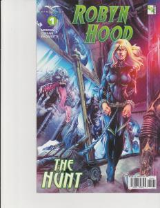 Robyn Hood The Hunt #1 Cover D Zenescope Comic GFT NM Lilly