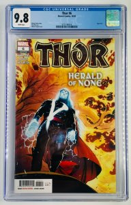 Thor #6 | Cover A | Donny Cates | Black Winter | CGC  9.8