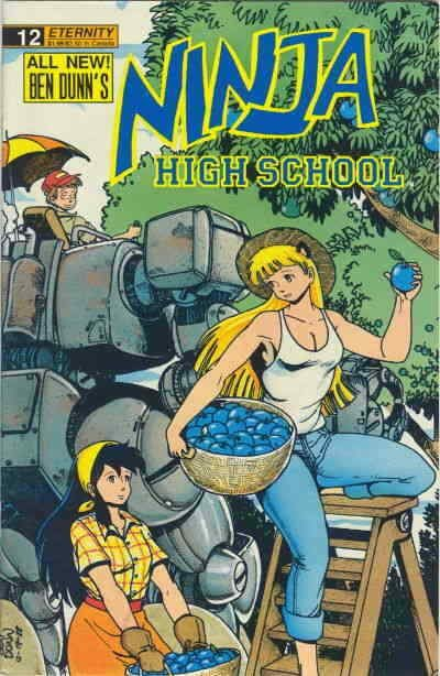 Ninja High School #12 FN; Malibu | save on shipping - details inside