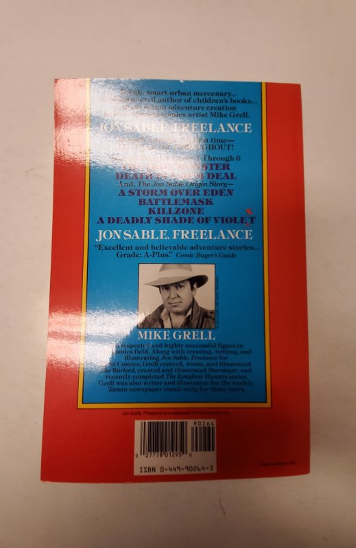 Jon Sable Freelance #1 NM First Comic Book J668