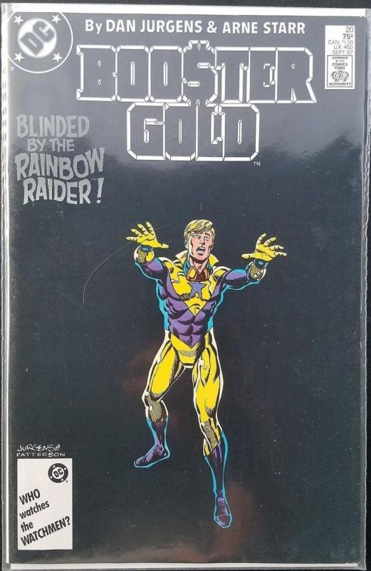BOOSTER GOLD #20, VF/NM, Jurgens,  DC, 1986 1987,  more in store