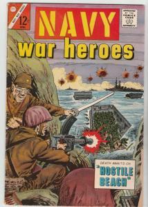 Navy War Heroes #7 (Apr-65) VG+ Affordable-Grade