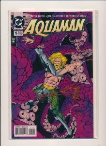 AQUAMAN #5 - DC Comics 1995 ~ NM (PJ02)