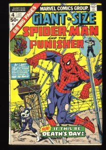 Giant-Size Spider-Man #4 FN 6.0 3rd Punisher!