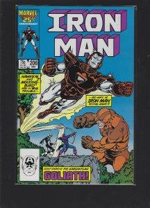 Iron Man #206 (1986)