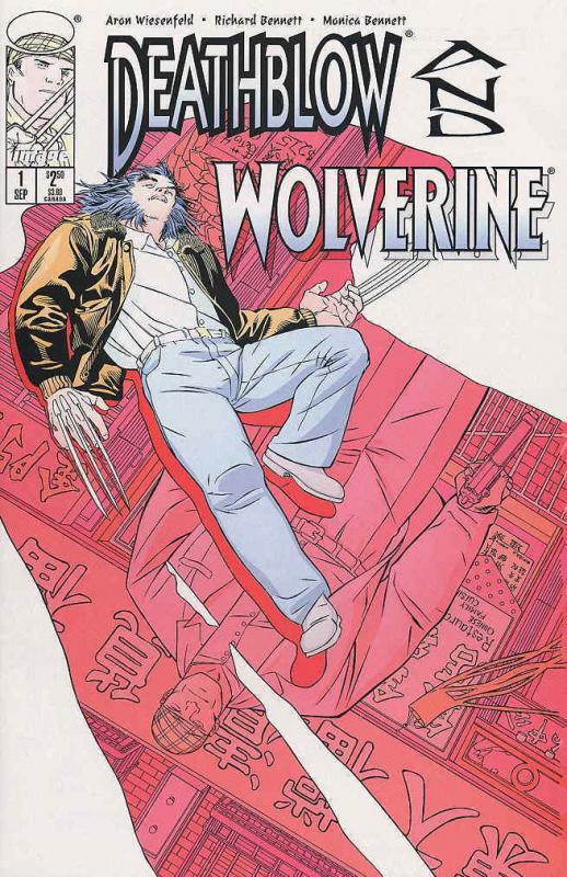Deathblow/Wolverine #1 VF/NM; Image | save on shipping - details inside