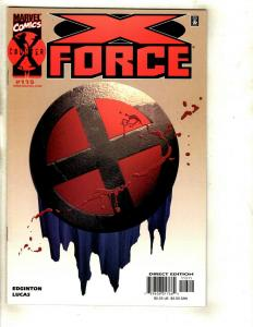 7 X-Force Marvel Comics # 115 Flashback 1 Annual 2 Sp 95 96 97 Megazine 1 EK4