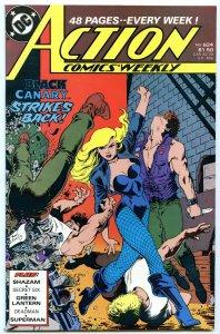 Action Comics Weekly 624 Nov 1988 NM- (9.2)