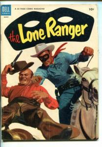 THE LONE RANGER #69-1954-DELL-TONTO-SCOUT-SILVER-SILVER BULLET-vg