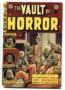 Vault of Horror #29 1953- EC comics- Ray Bradbury-pre-code horror fr/g