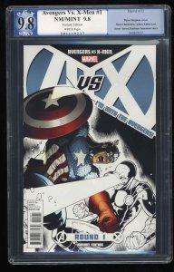 Avengers vs. X-men  #1 PGX NM/M 9.8 White Pages Variant!