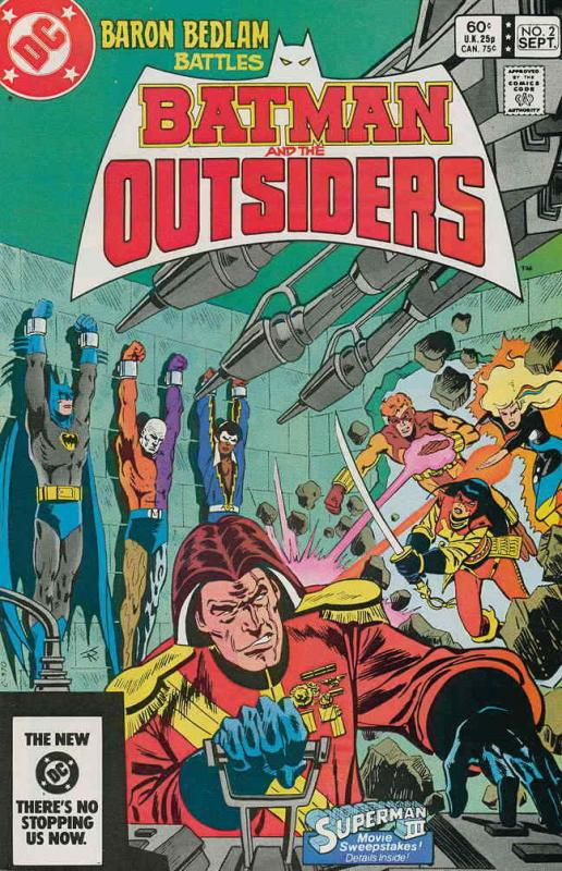 Batman and the Outsiders #2 FN; DC | save on shipping - details inside