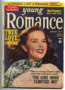 Young Romance #17 1950- Simon & Kirby- photo cover VG