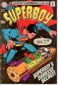 SUPERBOY 158 VG-F NEAL ADAMS COVER   July 1969 COMICS BOOK