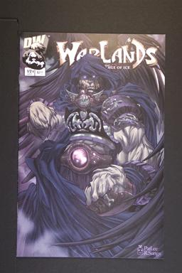 Warlands # 1/2 B Cover April 2002 Image Comics