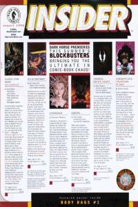Dark Horse Insider (1989 series) #8, NM (Stock photo)