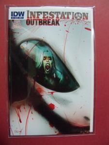 INFESTATION OUTBREAK  #3 COVER B  (9.0 to 9.4 or better)  IDW