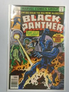 Black Panther #2 7.0 FN VF (1977 1st Series)